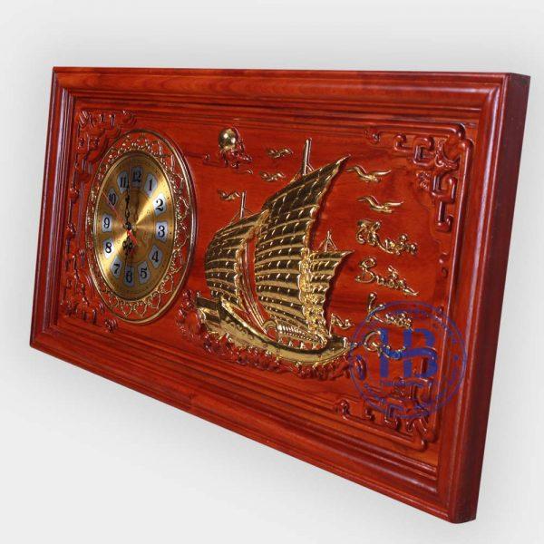 Tranh gỗ đồng hồ Thuận Buồm Xuôi Gó đẹp giá rẻ ở Hà Nội