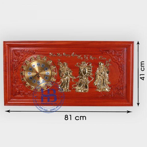 Tranh gỗ đồng hồ Phúc Lộc Thọ Đẹp giá rẻ ở Hà Nội