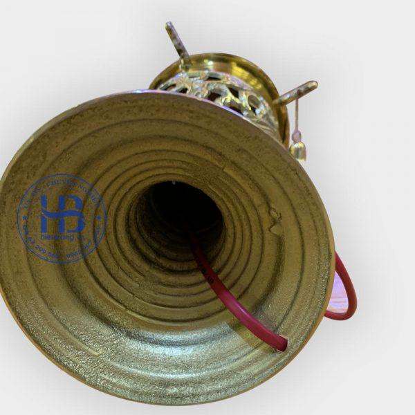 Đèn thờ bằng đồng rồng phượng 42cm đẹp giá tốt ở Hà Nội