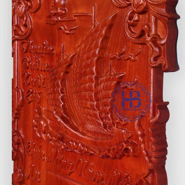 Đốc lịch gỗ Hương Thuận Buồm Xuôi Gió không dát vàng đẹp giá rẻ ở Hà Nội