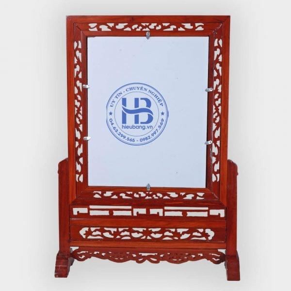 Khung ảnh thờ Kép gỗ Hương 63x87cm