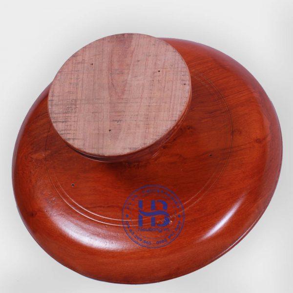 Mâm bồng bằng gỗ Hương 40cm đẹp giá rẻ ở Hà Nội
