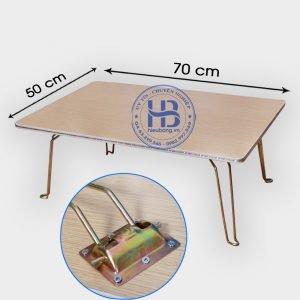 Bàn gấp chân chịu lực 50x70cm đẹp giá rẻ ở Hà Nội