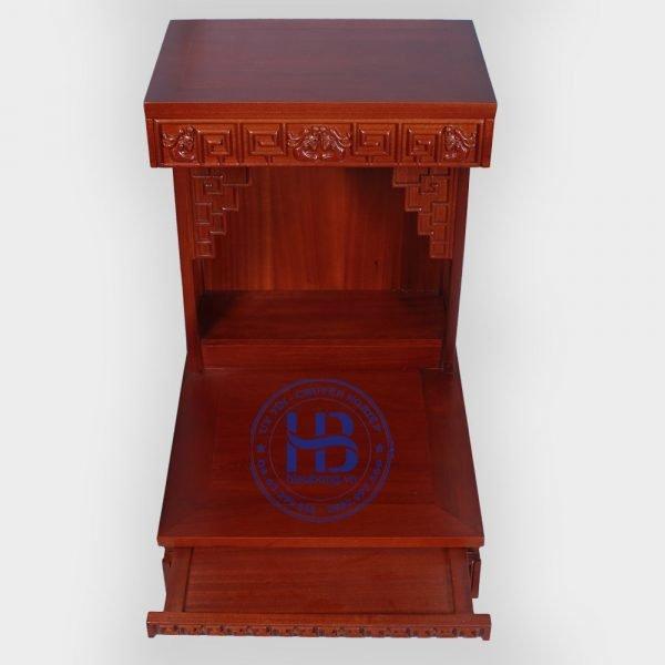 Bàn thần tài Zich Zắc gỗ Lát đẹp giá rẻ ở Hà Nội