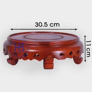 Đế kê gỗ Hương cao cấp 30,5cm đẹp giá rẻ ở Hà Nội
