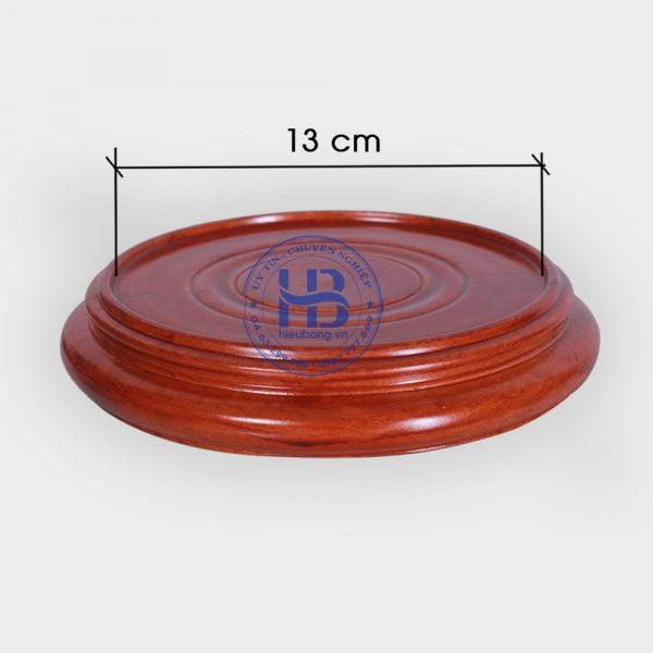 Đế kê gỗ Hương nguyên khối 13cm đẹp giá rẻ ở Hà Nội