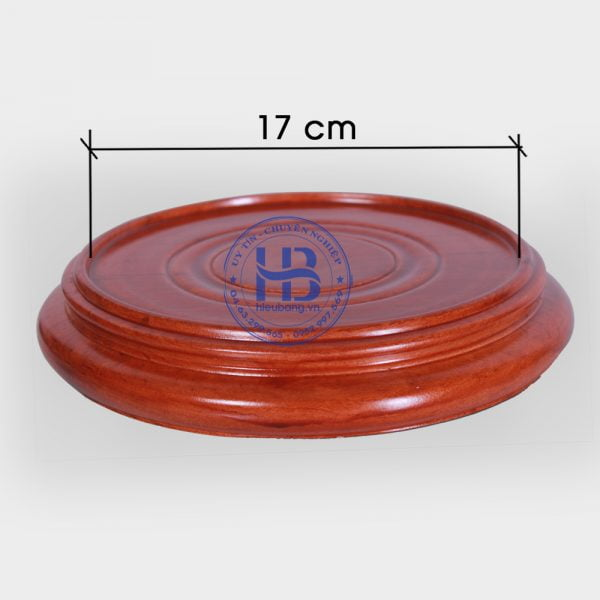 Đế kê gỗ Hương nguyên khối 15cm đẹp giá rẻ ở Hà Nội