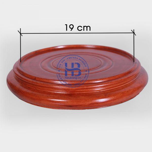 Đế kê gỗ Hương nguyên khối đẹp giá rẻ ở Hà Nội