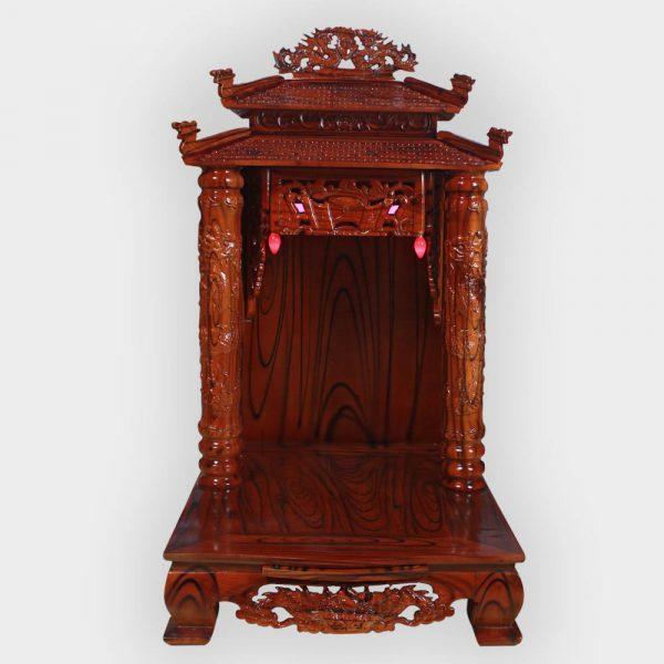 Bàn thần tài 8 mái gỗ thông đẹp giá rẻ ở Hà Nội