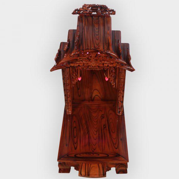 Bàn thần tài mái dốc gỗ thông đẹp giá rẻ ở Hà Nội