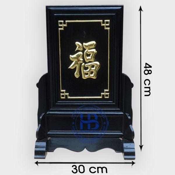 Khung ảnh thờ chữ Phúc màu Đen gỗ Hương đẹp giá rẻ ở Hà Nội