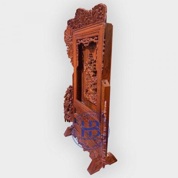 Giá gương thờ bằng gỗ Hương đẹp tại Hà Nội