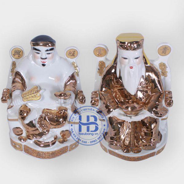 Cặp thần tài ông địa vàng kim đẹp giá tốt ở Hà Nội
