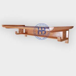 Bàn thờ treo tường gỗ sồi 127x61cm