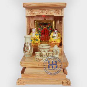 BànBộ bàn thờ thần tài hiện đại 36cm Giá Rẻ Vàng