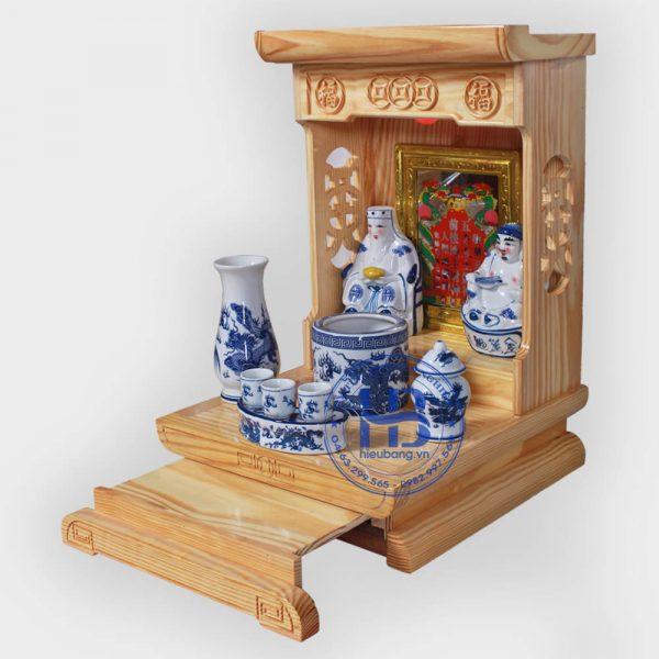 Bộ bàn thờ thần tài hiện đại 36cm GRX