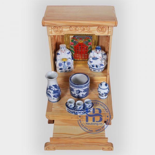 Bộ bàn thờ thần tài hiện đại 36cm