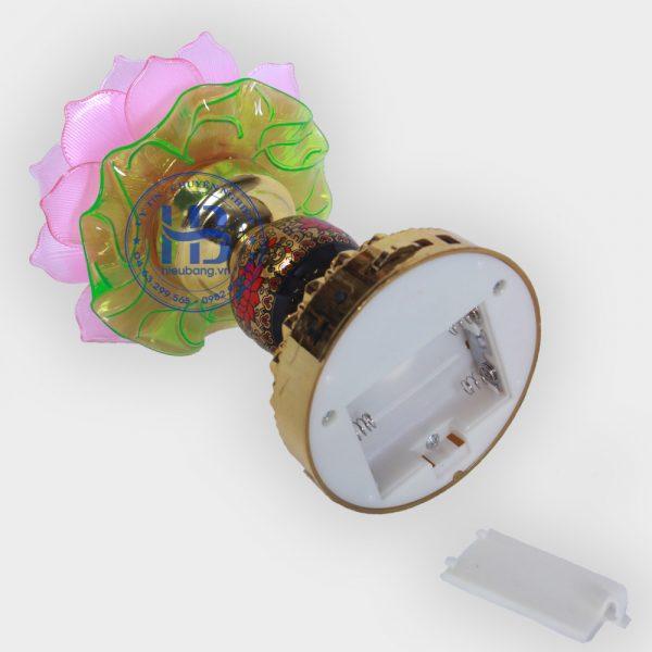 Đèn bàn thờ dùng pin tụng kinh