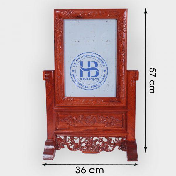Khung ảnh thờ gỗ Hương cao cấp