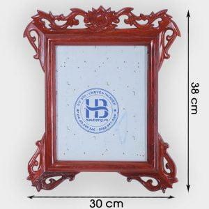 Khung ảnh thờ treo tường gỗ Hương 18x24cm đẹp tại Hà Nội