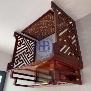Tấm vách bàn thờ treo tường đẹp