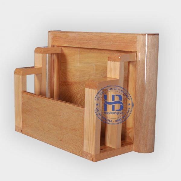 Bàn thờ treo tường gỗ Pơmu 35x50cm