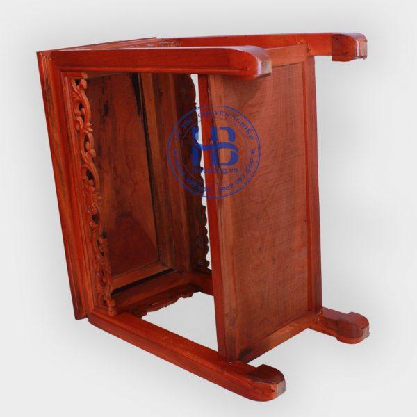 Đôn kê gỗ Gụ mặt 57x30cm