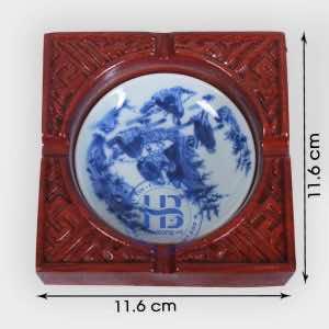 Gạt tàn thuốc gỗ Hương Vuông