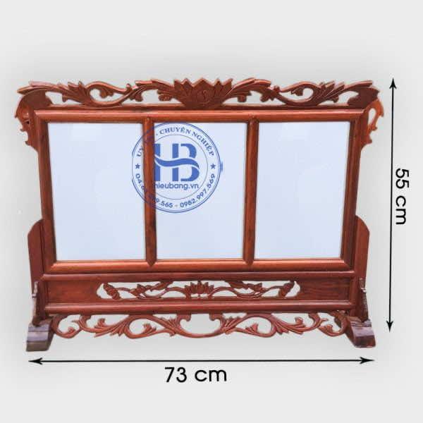 Khung ảnh thờ ba gỗ hương 20x30cm cao cấp đẹp giá rẻ tại Hà Nội