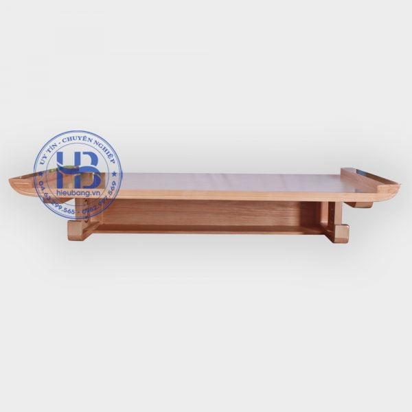 Bàn thờ treo tường gỗ sồi 107x61cm đẹp giá rẻ tại Hà Nội