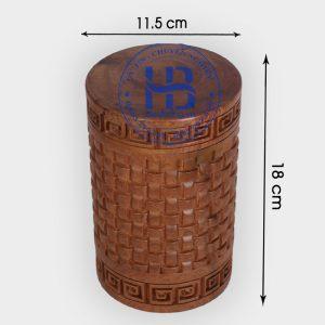Hộp trà gỗ Bách Xanh đẹp giá rẻ tại Hà Nội