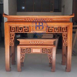 Bàn thờ bằng gỗ Sồi HB-C08 Đẹp Giá Tại Xưởng ở Hà Nội