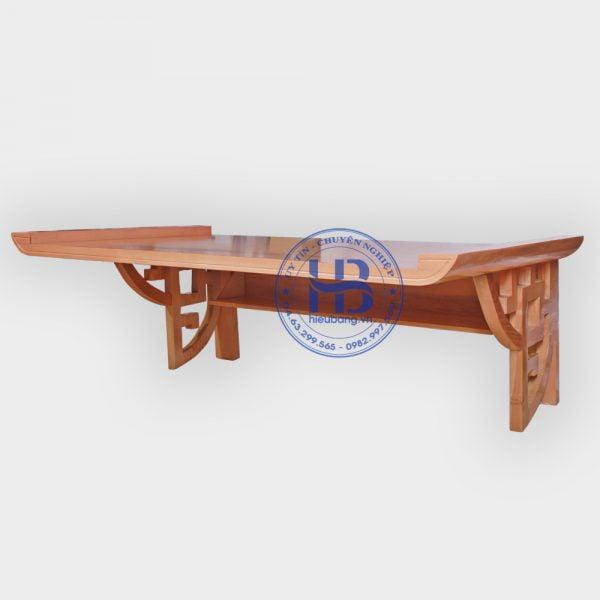 Bàn thờ treo tường chung cư gỗ Sồi 107x61cm đẹp giá rẻ ở Hà Nội