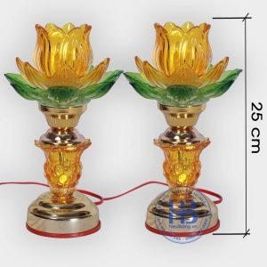 Đèn thờ điện led 1 bông Vàng cao cấp đẹp giá rẻ tại Hà Nội