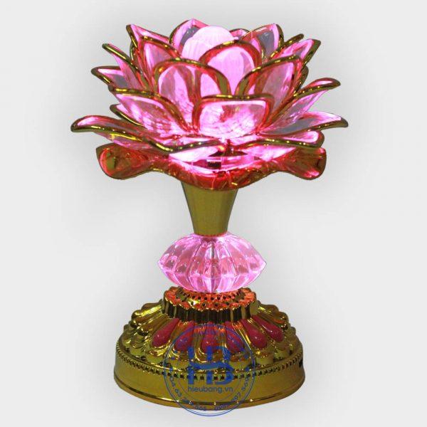 Đèn thờ hoa sen tụng kinh Pin sạc đẹp giá rẻ ở Hà Nội