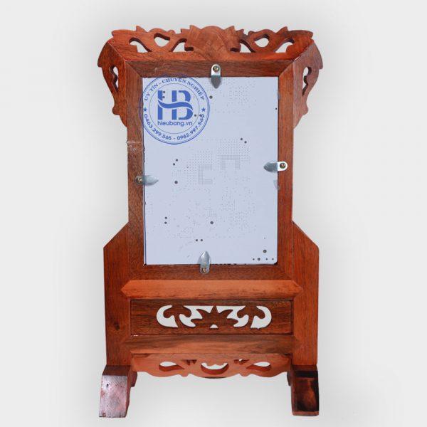 Khung ảnh thờ gỗ Gụ 15x21cm đẹp giá rẻ tại Hà Nội