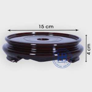 Đế kê bát hương gỗ Sà Cừ 15cm đẹp giá rẻ ở Hà Nội