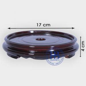 Đế kê bát hương gỗ Sà Cừ 17cm đẹp giá rẻ tại Hà Nội