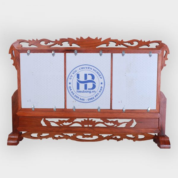Khung ảnh thờ Ba gỗ Hương 20x25cm cao cấp Đẹp giá tốt tại Hà Nội