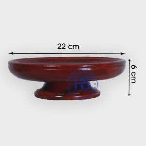 Mâm bồng gỗ Hương 22cm đẹp giá tại xưởng ở Hà Nội