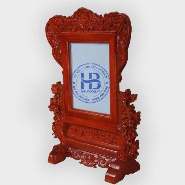 Khung ảnh thờ 18x24cm đục Hoa Mai cao cấp ở Hà Nôi