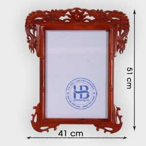Khung Ảnh Thờ Treo 25x35cm gỗ Hương tại Hà Nội