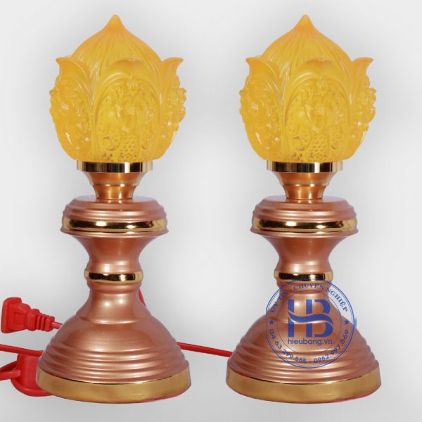 Đèn thờ lưu ly 1 bông đẹp giá rẻ ở Hà Nội