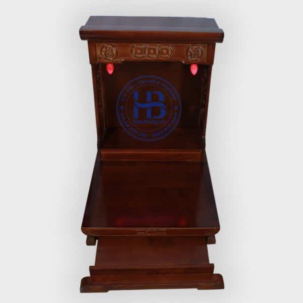 Bàn thờ thần tài hiện đại gỗ thông 48cm Màu Đẹp giá rẻ ở Hà Nội