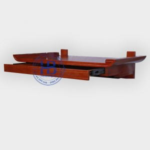 Bàn thờ treo có ngăn kéo 89x48 cm Màu Gụ đẹp giá rẻ ở Hà Nội