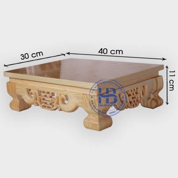 Bàn Osin giá rẻ 30x40cm ở Hà Nội | Nhận đặt làm theo kích thước