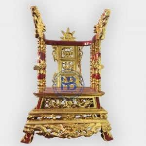 Ngai Thờ Gỗ Đẹp Dát Vàng Hàng Cao Cấp tại Hà Nội