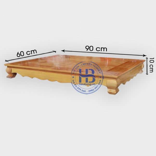 Kệ Kê Bàn Thờ Thần Tài Màu Sáng 60x90cm Đẹp Giá Rẻ ở Hà Nội