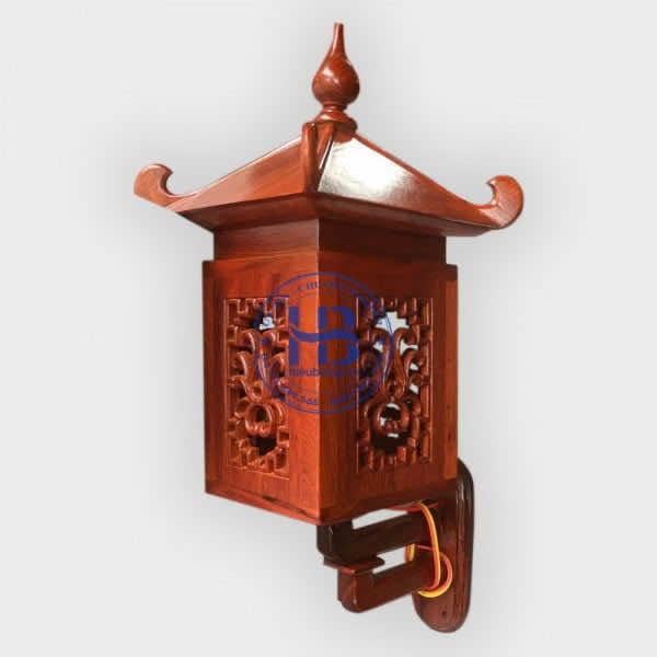 Đèn Gắn Tường Bằng Gỗ Hương Đẹp Giá Rẻ ở Hà Nội
