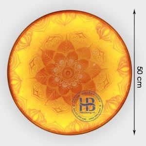 Tranh Trúc Chỉ tròn 50cm Dùng Cho Bàn Thờ Phòng Thờ tại Hà Nội | Hiếu Bằng